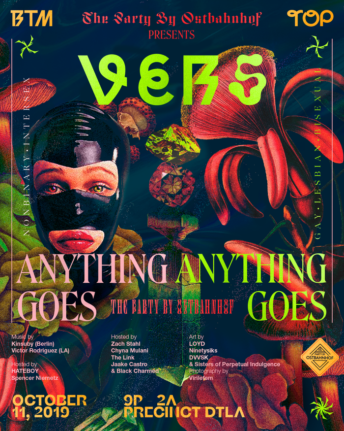 The Party by Ostbahnhof presents VERS: Anything Goes, October 2019 1