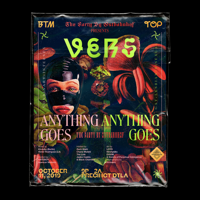 The Party by Ostbahnhof presents VERS: Anything Goes, October 2019 2
