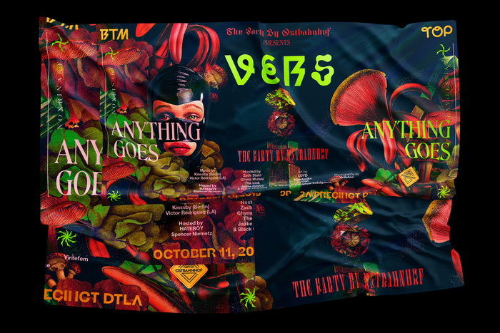 The Party by Ostbahnhof presents VERS: Anything Goes, October 2019 3