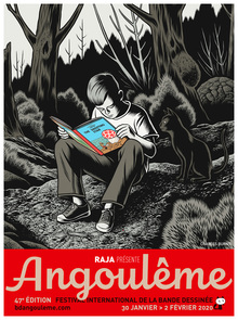 Festival international de la bande dessinée d'Angoulême 2020 posters and logo