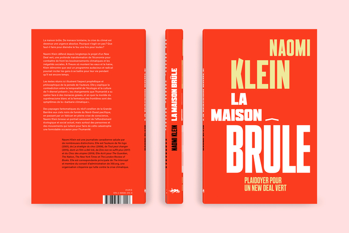 La maison brûle – Naomi Klein 2
