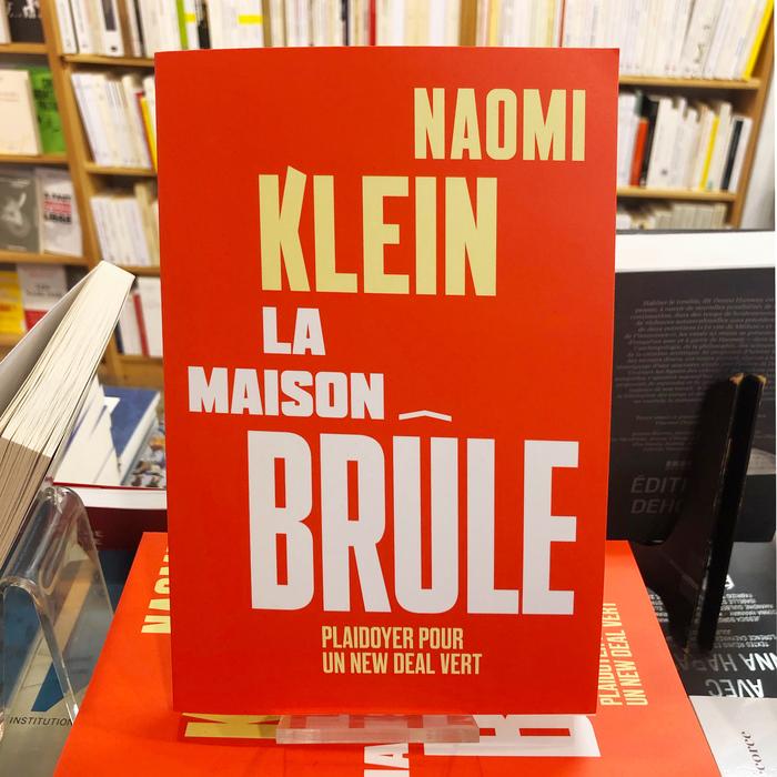 La maison brûle by Naomi Klein 3