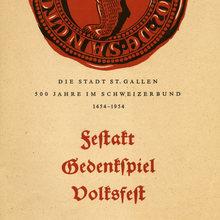 <cite>Die Stadt St. Gallen 500 Jahre im Schweizerbund 1454–1954</cite>