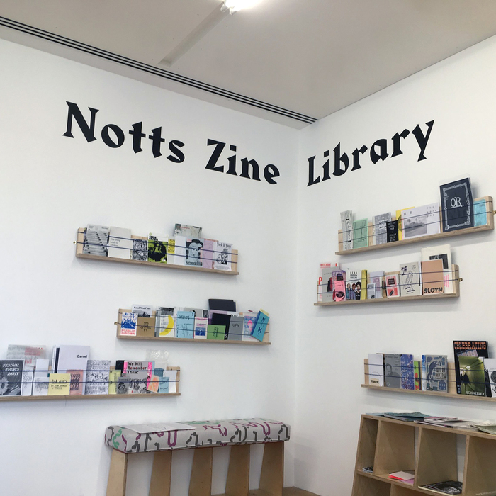 N to M fanzine and Notts Zine Library 3