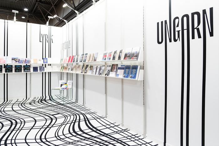 Hungarian stand, Leipzig Book Fair 2019 4