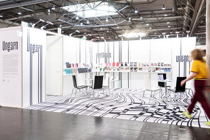 Hungarian stand, Leipzig Book Fair 2019 1