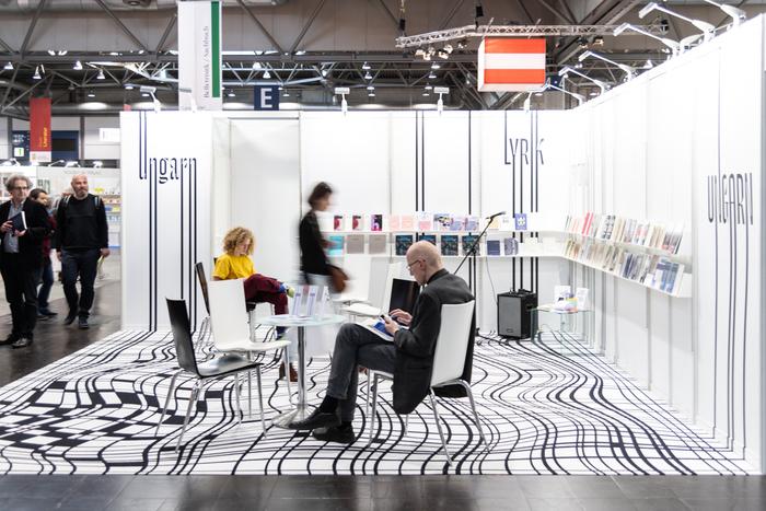 Hungarian stand, Leipzig Book Fair 2019 2