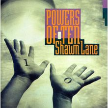 Shawn Lane – <cite>Powers of Ten</cite> album art