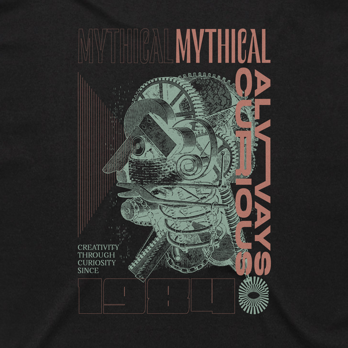 """Always Curious"" shirt by Mythical Entertainment 1"