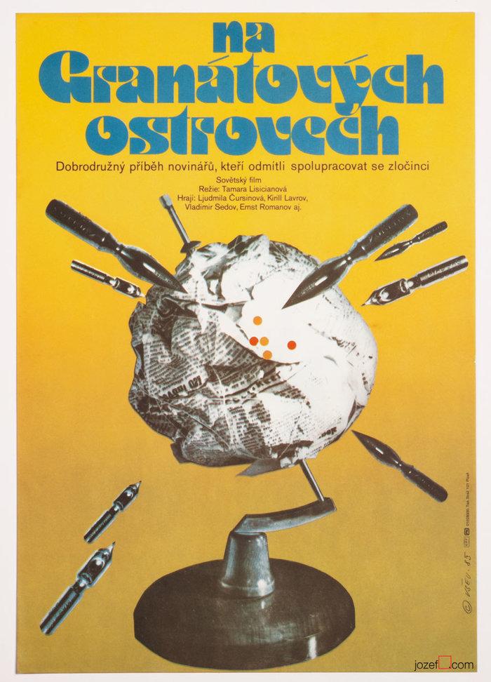 Na granátových ostrovech (1983) Czechoslovak movie poster