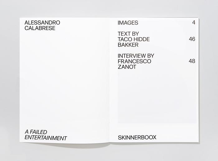 Alessandro Calabrese – A Failed Entertainment 3