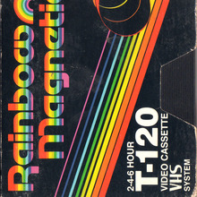 Rainbow Magnetics VHS tape