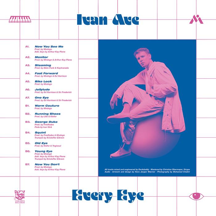 Ivan Ave – Every Eye album art 2