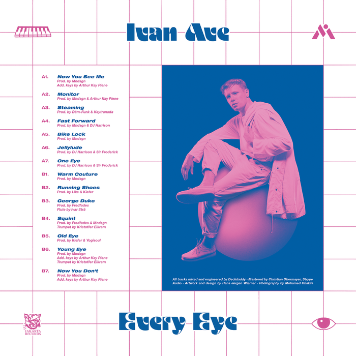Ivan Ave – Every Eye album art 2