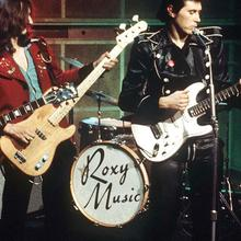 Roxy Music drum logo