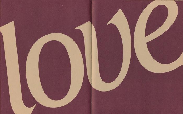 """""""Love"""" part title"""