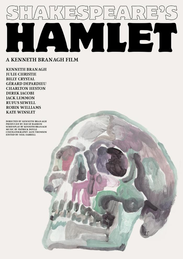 Shakespeare's Hamlet (1996) movie poster 2