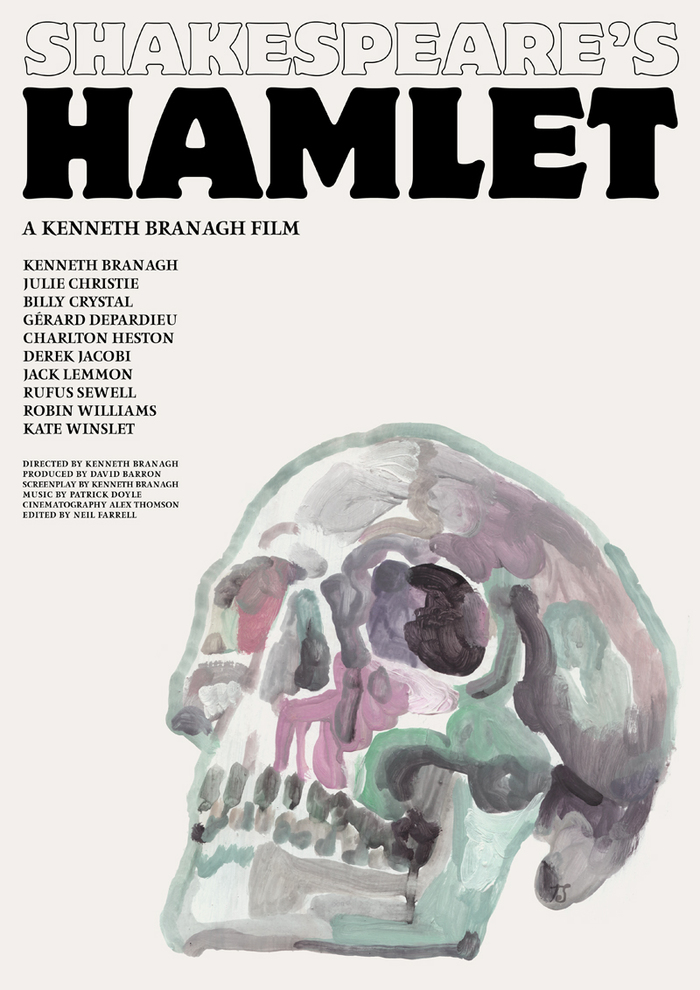 Shakespeare's Hamlet (1996) movie poster 2