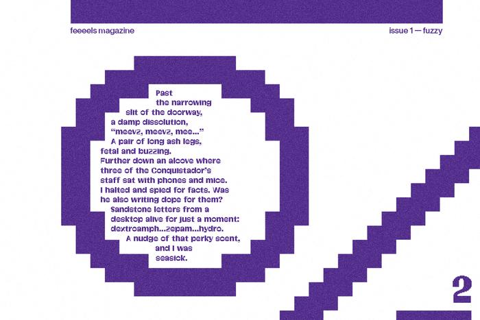 """""""Fuzzy Buzzy"""" in feeeels magazine, No.1 3"""