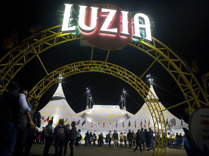 Luzia Cirque du Soleil 2
