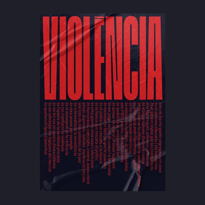 """""""Violència"""" poster 2"""