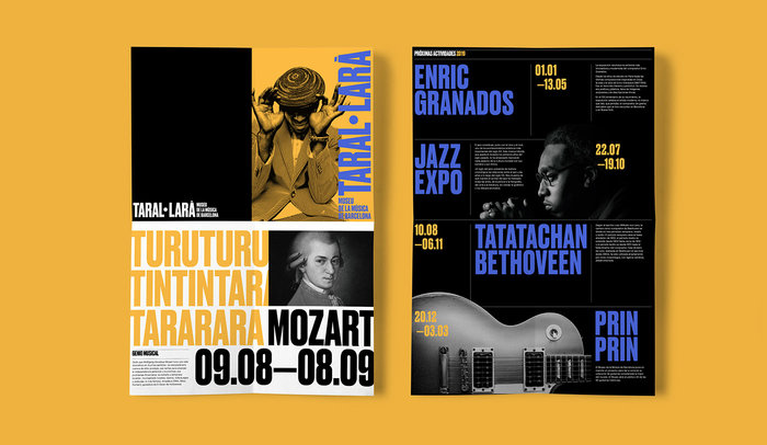 Taral·larà: Museu de la Música de Barcelona (fictional redesign) 8