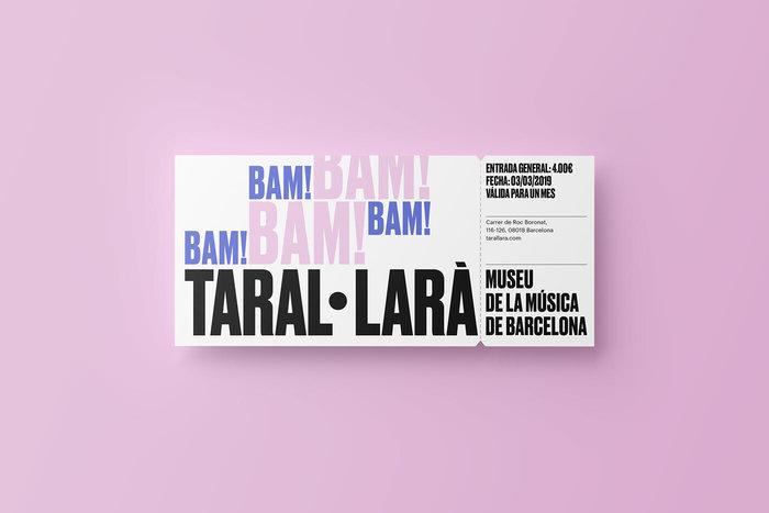 Taral·larà: Museu de la Música de Barcelona (fictional redesign) 10