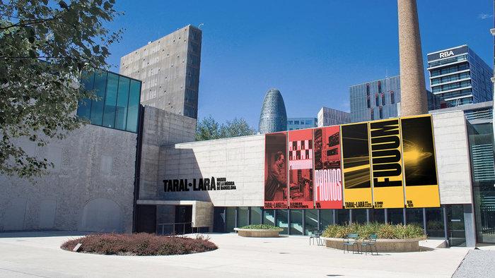 Taral·larà: Museu de la Música de Barcelona (fictional redesign) 1