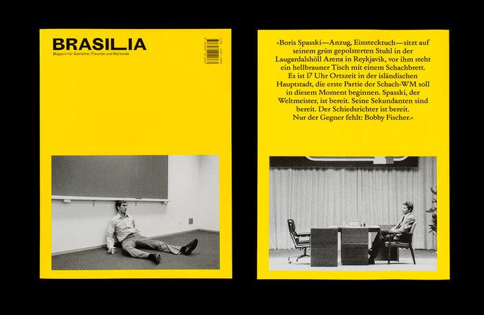 "Brasilia #3—""Warten [Waiting]"" 1"