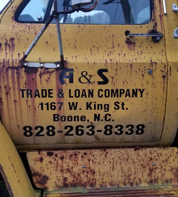 A&S Trade & Loan Truck 2