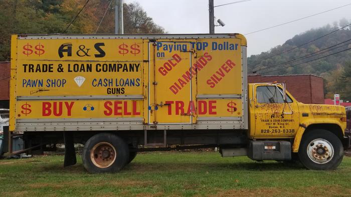 A&S Trade & Loan Truck 1