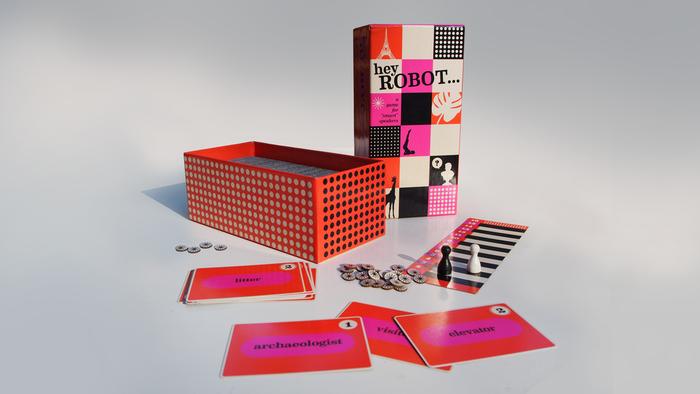 Hey Robot packaging and Kickstarter campaign 1