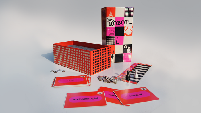 Hey Robot packaging and Kickstarter campaign 1