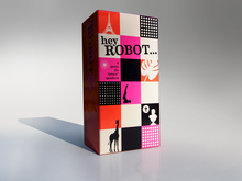 Hey Robot packaging and Kickstarter campaign