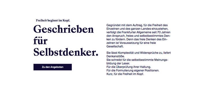 """""""Freiheit beginnt mit F"""" campaign by Frankfurter Allgemeine 5"""