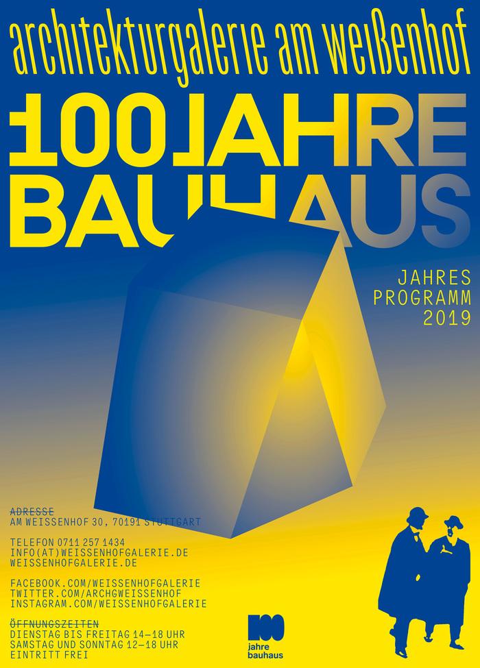 Architekturgalerie am Weißenhof, Bauhaus Year 2019 1