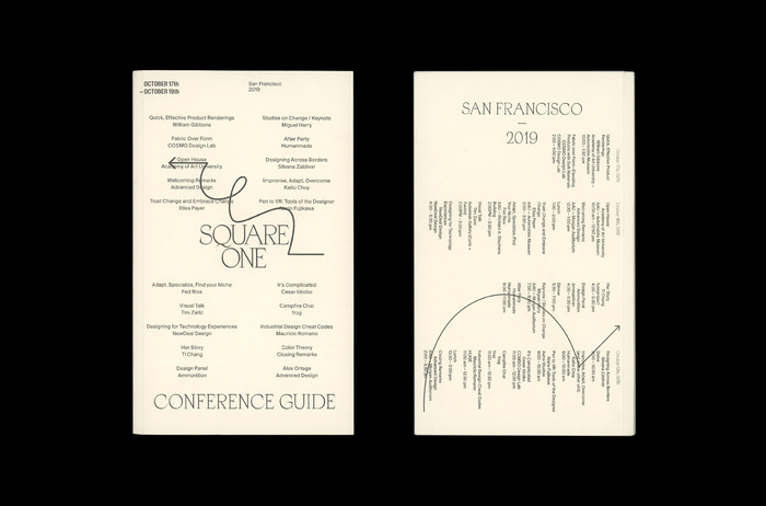 Square One (SF) conference guide 1