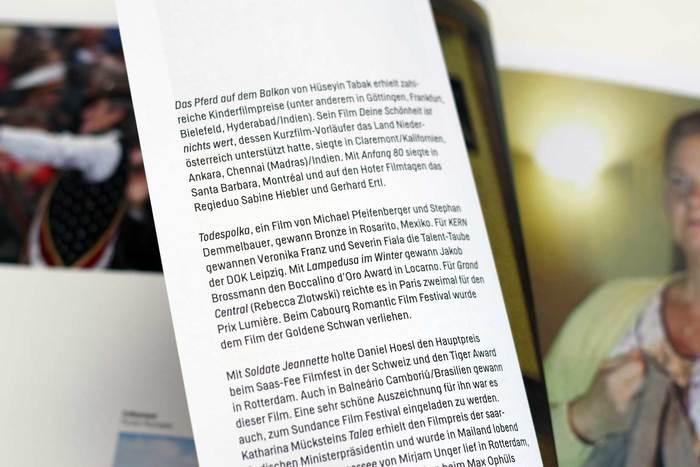 Filmlandschaft Niederösterreich: 20 Jahre Filmförderung 8