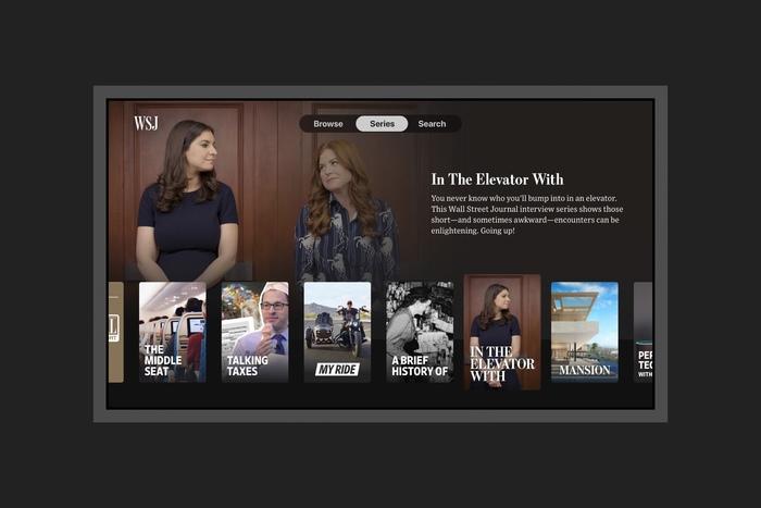 WSJ Apple TV app 3
