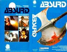 <cite>Absurd</cite> VHS cover