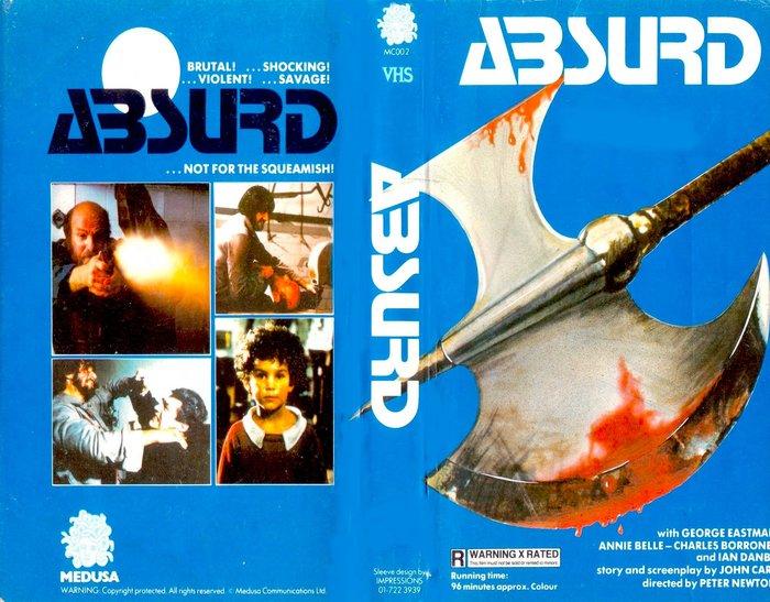 Absurd VHS cover 1