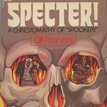 "<cite>Specter! A Chrestomathy of ""Spookery""</cite> book cover"