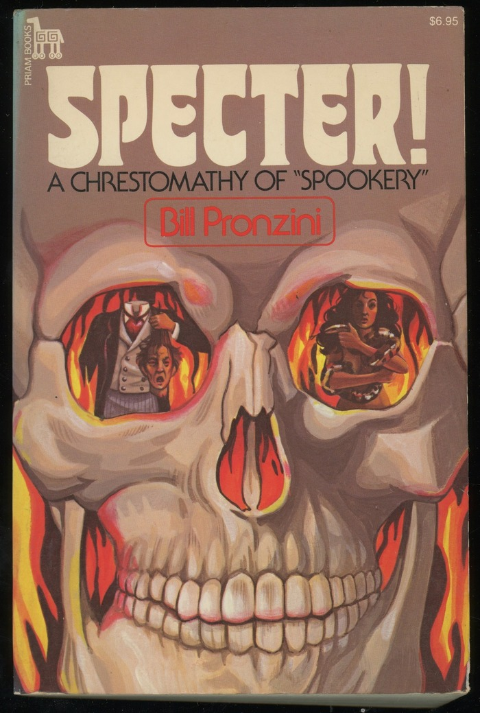 """Specter! A Chrestomathy of """"Spookery"""" book cover"""