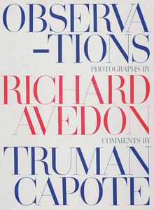 Richard Avedon, <cite>Observations</cite>