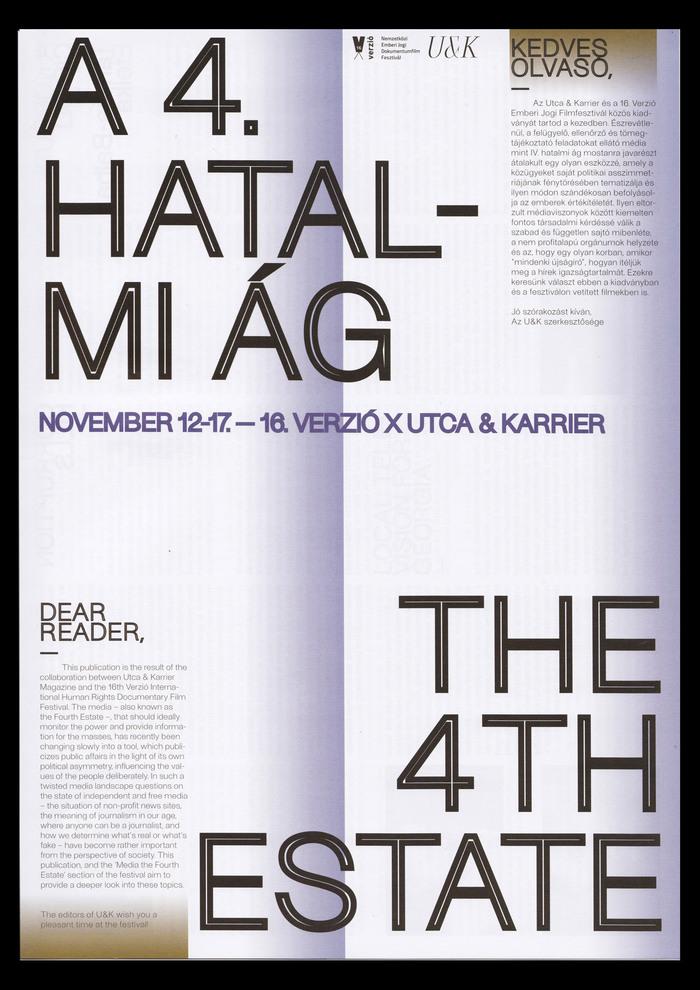 A 4. Hatalmi Ág / The 4th Estate 2
