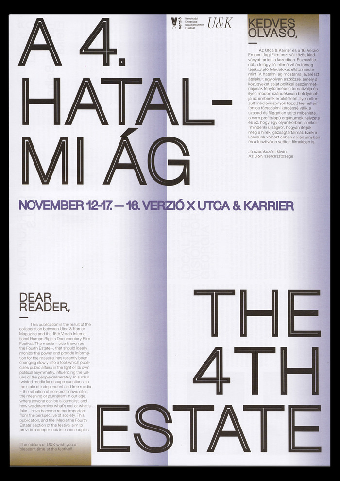 A 4. Hatalmi Ág / The 4th Estate 2