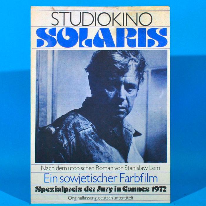Solaris (1972) program booklet, Progress Film-Verleih 1