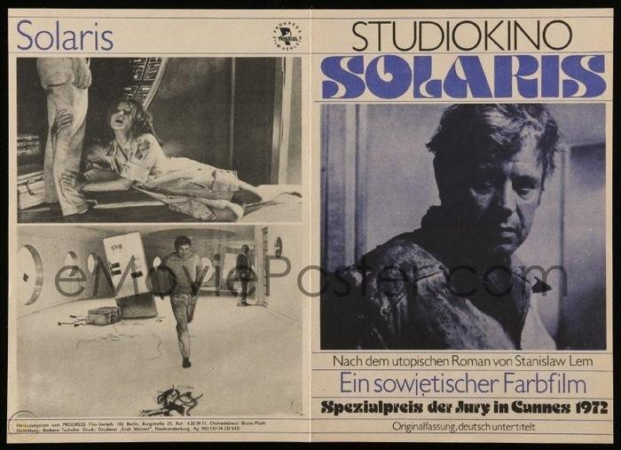 Solaris (1972) program booklet, Progress Film-Verleih 2